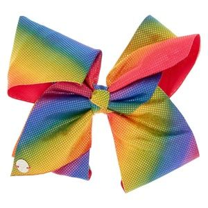 New JOJO SIWA Rainbow D.I.Y Diva Large Hair Bow